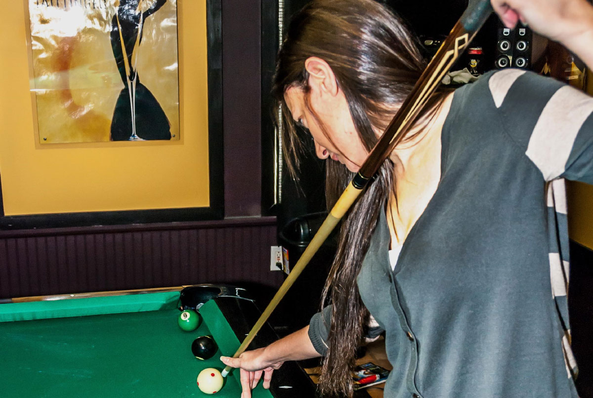 Dana Aft Billiards Players Blogger - Masse pool table